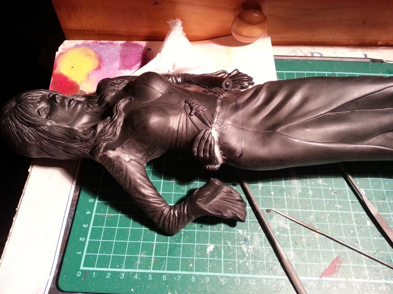 Elvira-Mistress of Darkness 1:4 von Screamin 20140711