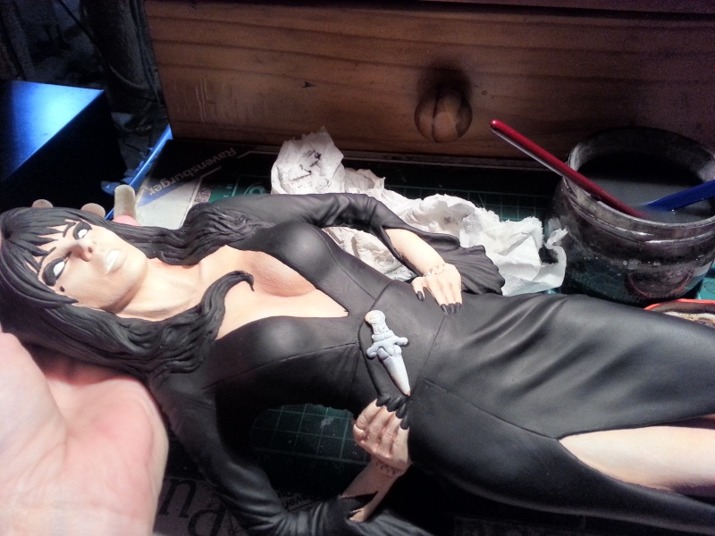 Elvira-Mistress of Darkness 1:4 von Screamin 20140752