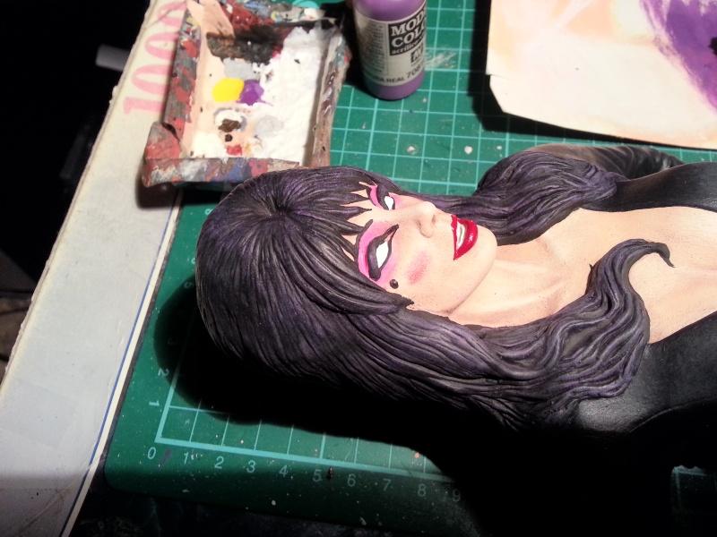 Elvira-Mistress of Darkness 1:4 von Screamin 20140960