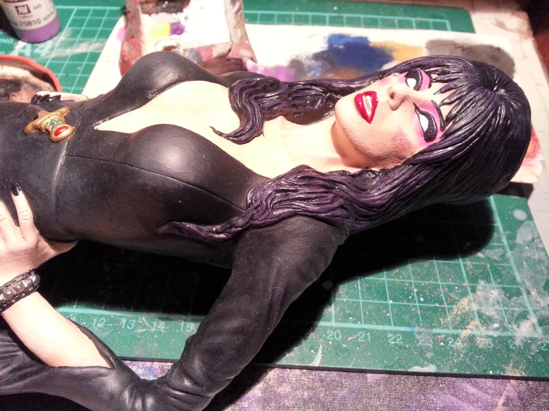 Elvira-Mistress of Darkness 1:4 von Screamin 20140963