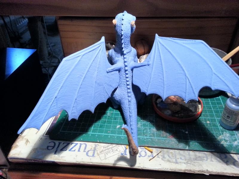 """Saphira aus """"Eragon-Vermächtnis der Drachenreiter"""" 1:1 Livesize 20141652"""