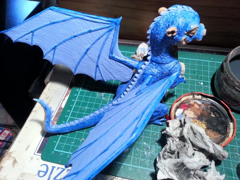 """Saphira aus """"Eragon-Vermächtnis der Drachenreiter"""" 1:1 Livesize 20141656"""