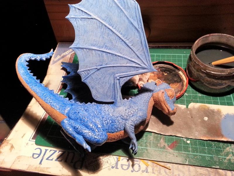 """Saphira aus """"Eragon-Vermächtnis der Drachenreiter"""" 1:1 Livesize 20141659"""