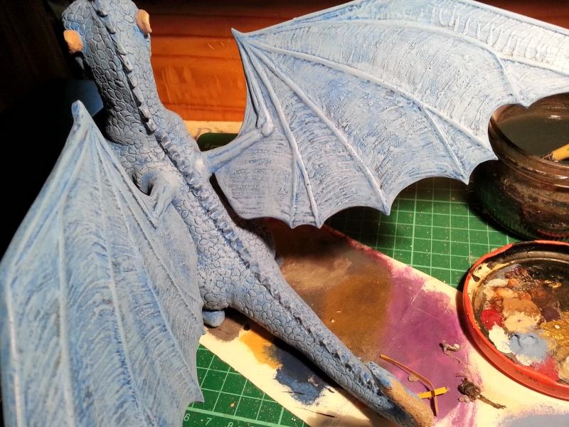 """Saphira aus """"Eragon-Vermächtnis der Drachenreiter"""" 1:1 Livesize 20141663"""
