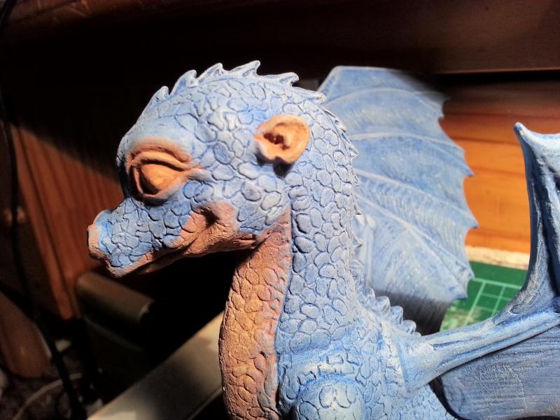 """Saphira aus """"Eragon-Vermächtnis der Drachenreiter"""" 1:1 Livesize 20141669"""