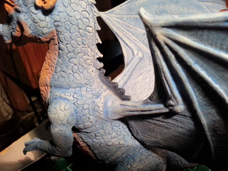 """Saphira aus """"Eragon-Vermächtnis der Drachenreiter"""" 1:1 Livesize 20141672"""