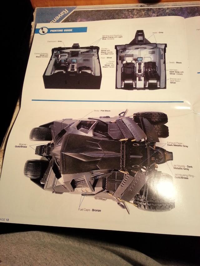 Der Tumbler aus der Batman Trilogie, 1:25 von Moebius 20141716