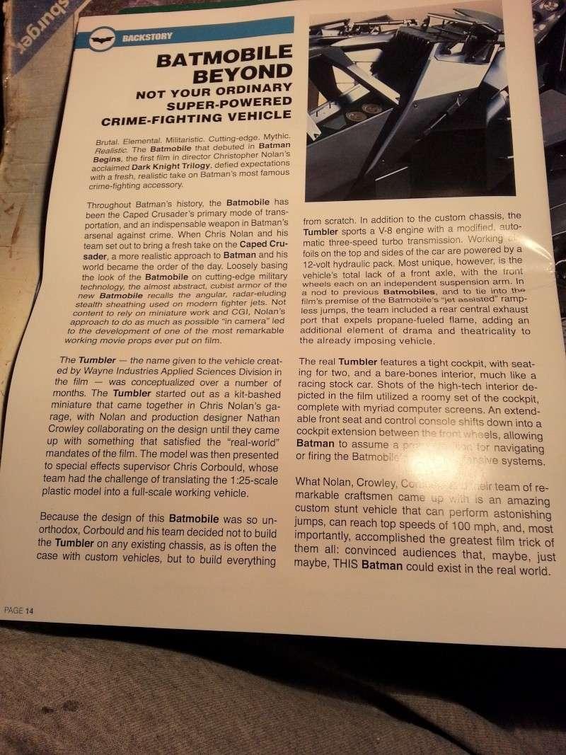 Der Tumbler aus der Batman Trilogie, 1:25 von Moebius 20141718