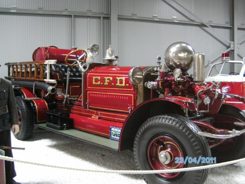 Historische Feuerwehrfahrzeuge im Technikmuseum Speyer Pict3810