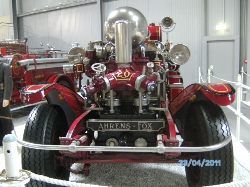 Historische Feuerwehrfahrzeuge im Technikmuseum Speyer Pict3811