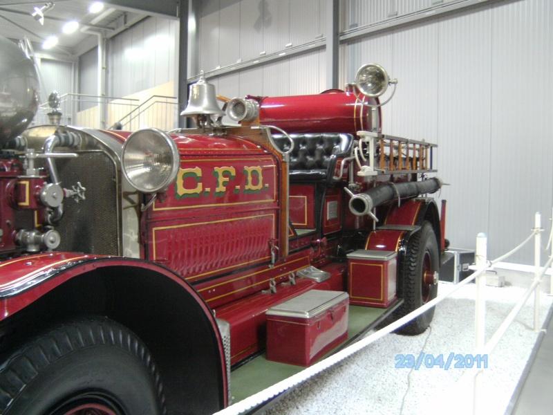 Historische Feuerwehrfahrzeuge im Technikmuseum Speyer Pict3813
