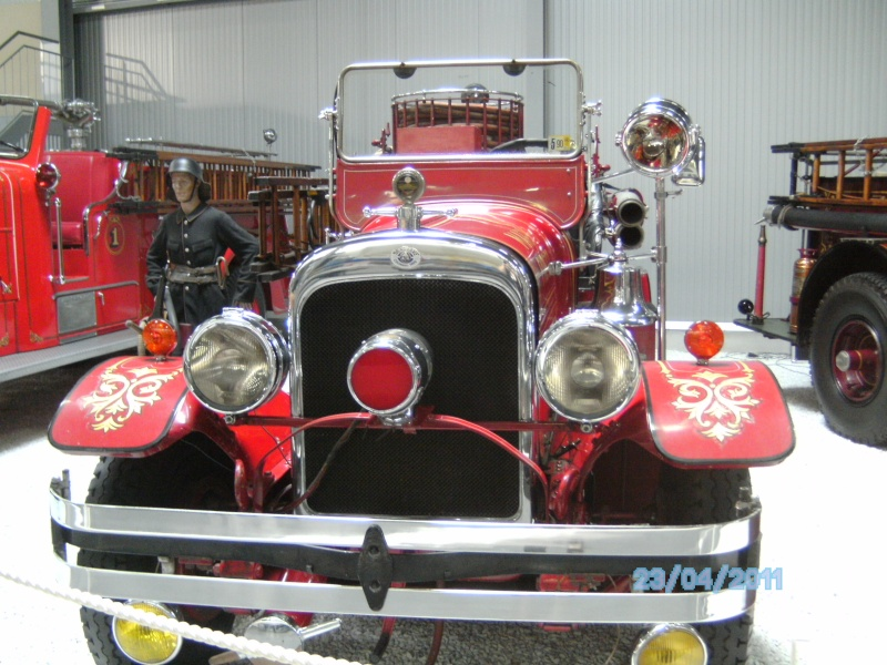 Historische Feuerwehrfahrzeuge im Technikmuseum Speyer Pict3814