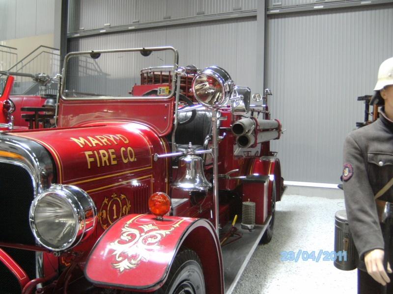 Historische Feuerwehrfahrzeuge im Technikmuseum Speyer Pict3815