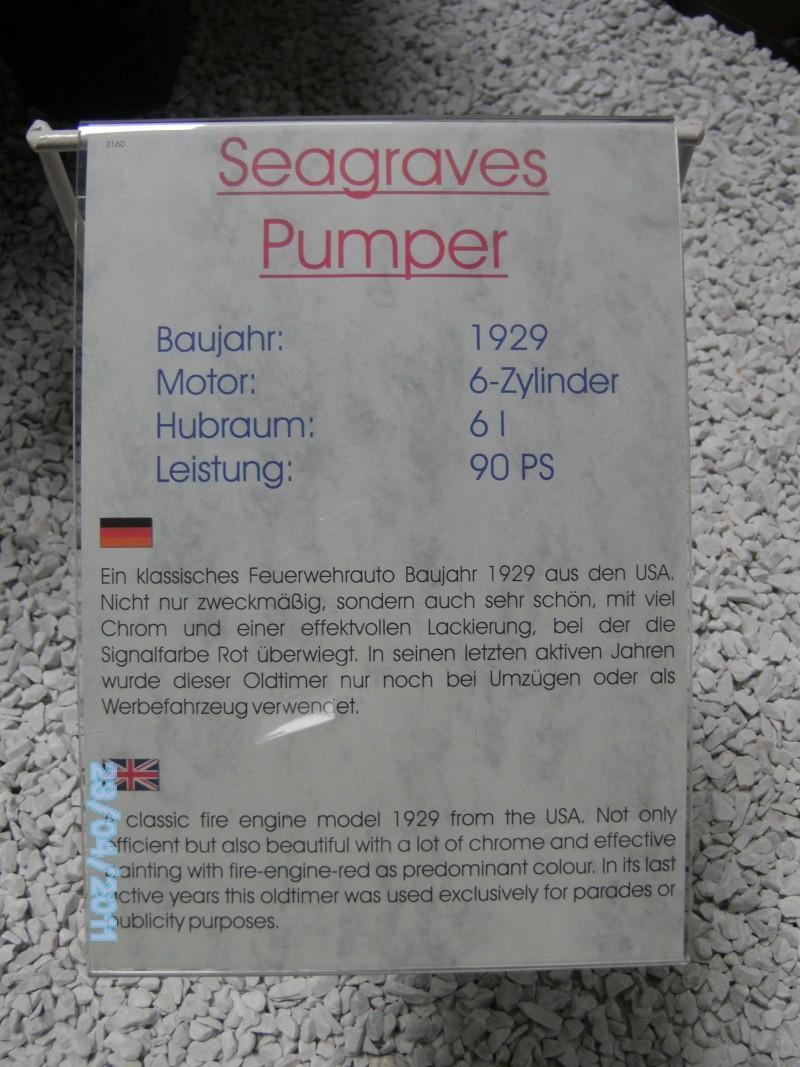 Historische Feuerwehrfahrzeuge im Technikmuseum Speyer Pict3816