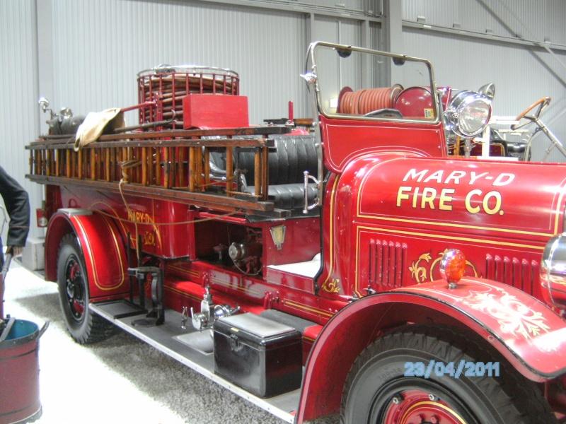 Historische Feuerwehrfahrzeuge im Technikmuseum Speyer Pict3817