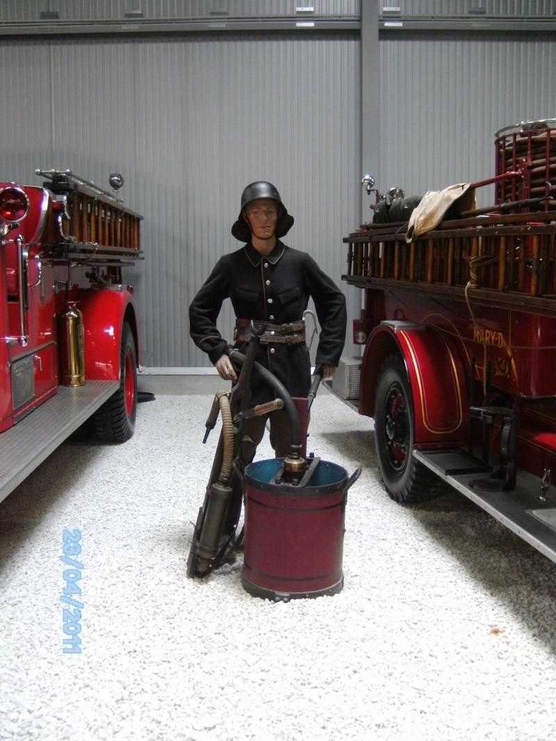 Historische Feuerwehrfahrzeuge im Technikmuseum Speyer Pict3818
