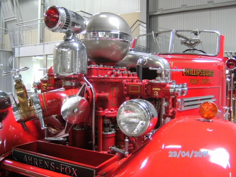Historische Feuerwehrfahrzeuge im Technikmuseum Speyer Pict3820