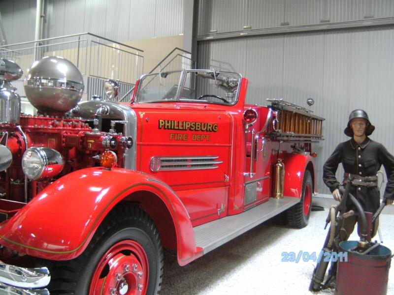 Historische Feuerwehrfahrzeuge im Technikmuseum Speyer Pict3822
