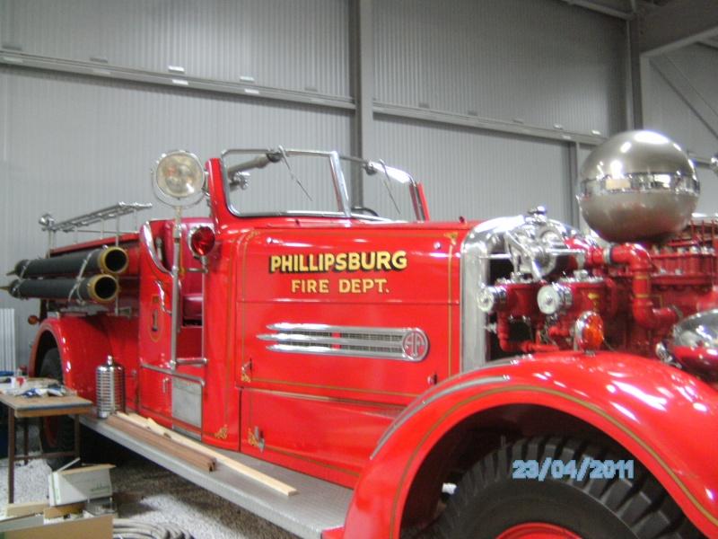 Historische Feuerwehrfahrzeuge im Technikmuseum Speyer Pict3823