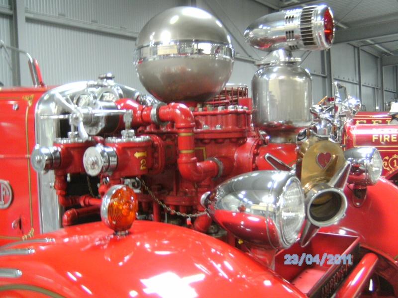 Historische Feuerwehrfahrzeuge im Technikmuseum Speyer Pict3824