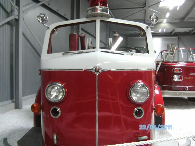 Historische Feuerwehrfahrzeuge im Technikmuseum Speyer Pict3825