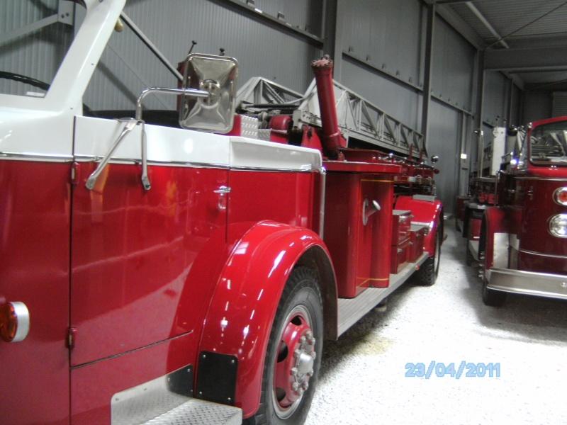Historische Feuerwehrfahrzeuge im Technikmuseum Speyer Pict3827