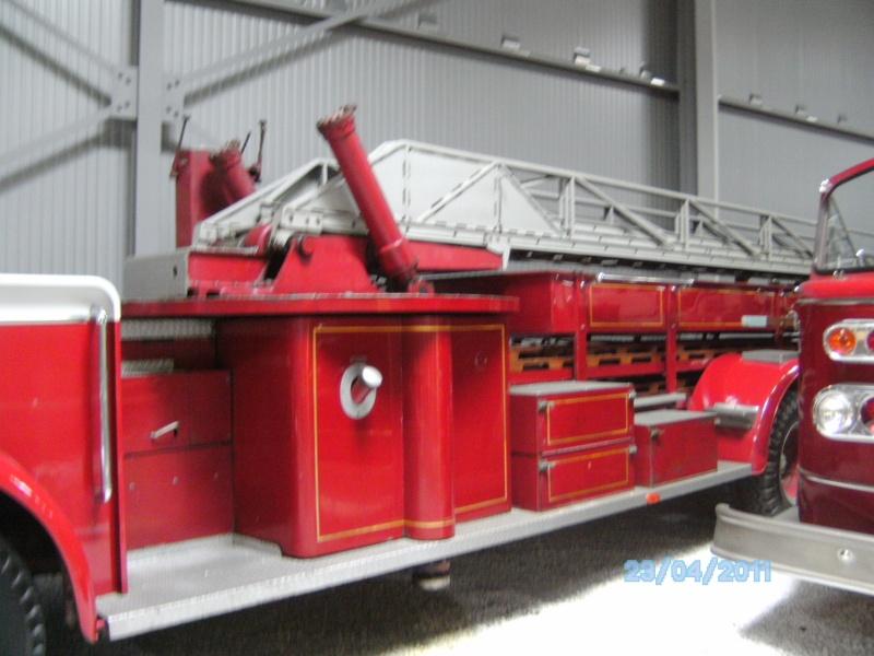 Historische Feuerwehrfahrzeuge im Technikmuseum Speyer Pict3828