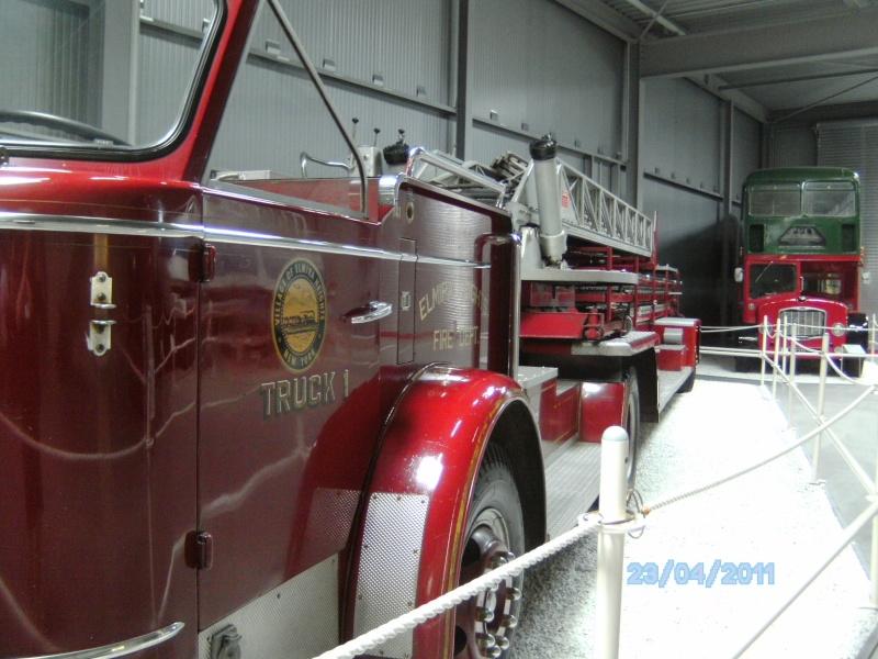 Historische Feuerwehrfahrzeuge im Technikmuseum Speyer Pict3831