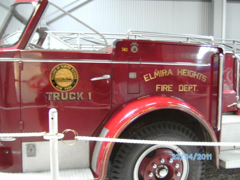 Historische Feuerwehrfahrzeuge im Technikmuseum Speyer Pict3832