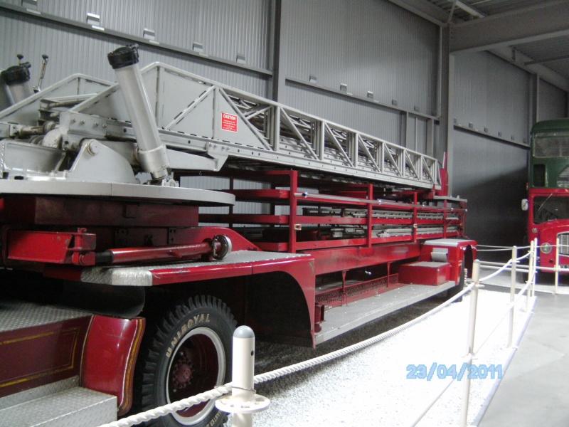 Historische Feuerwehrfahrzeuge im Technikmuseum Speyer Pict3833