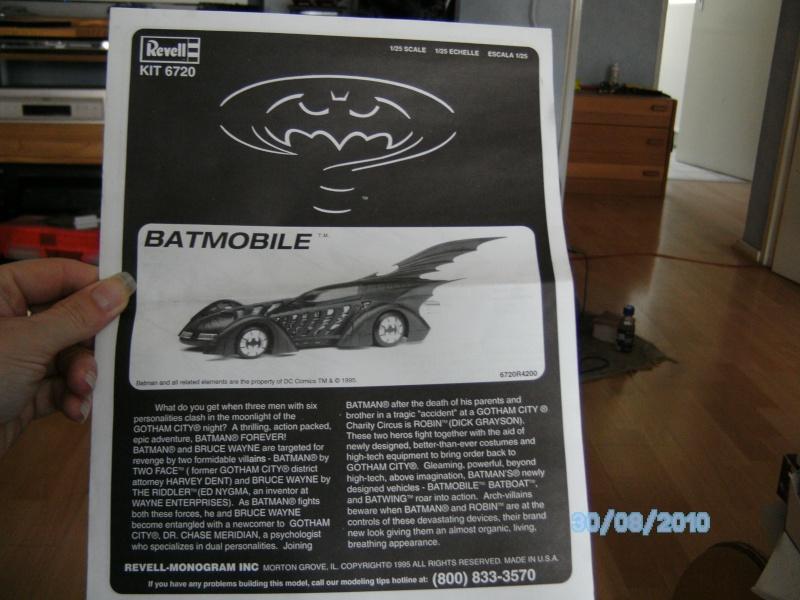 Batmobil aus Batman Forever 1:25 Revell Pict5714