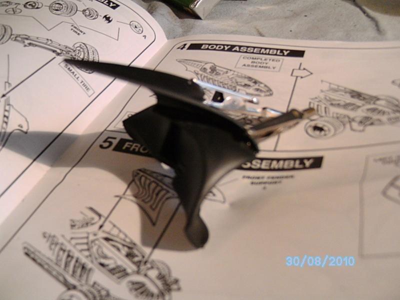 Batmobil aus Batman Forever 1:25 Revell Pict5729