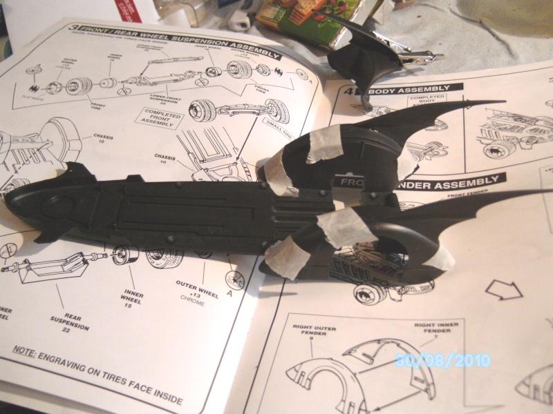 Batmobil aus Batman Forever 1:25 Revell Pict5730