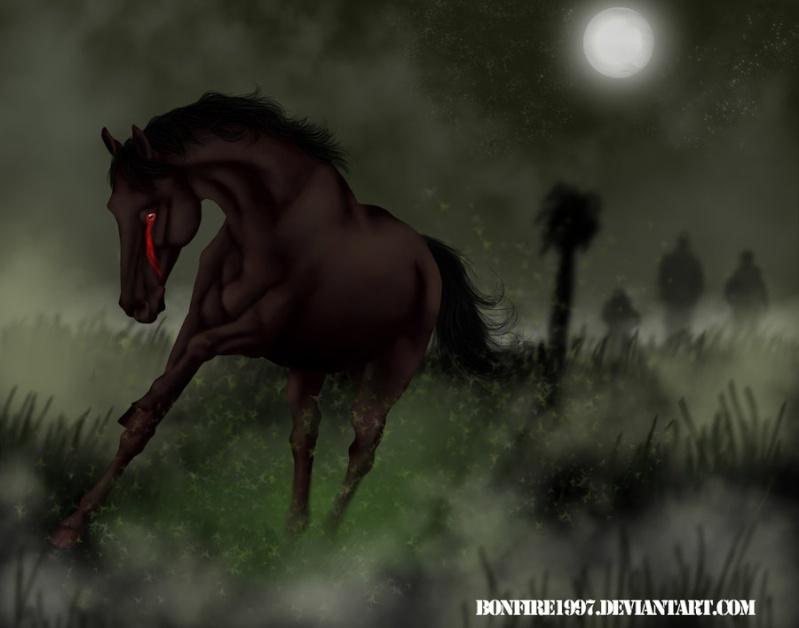 Famine • Cheval de l'Apocalypse 5 • Libre Apocal10