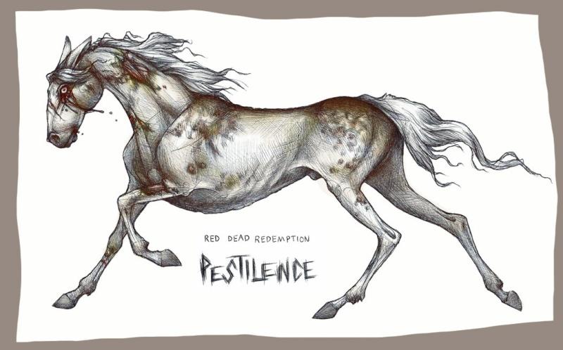 Pestilence • Cheval de l'Apocalypse 3 • Libre Undead10