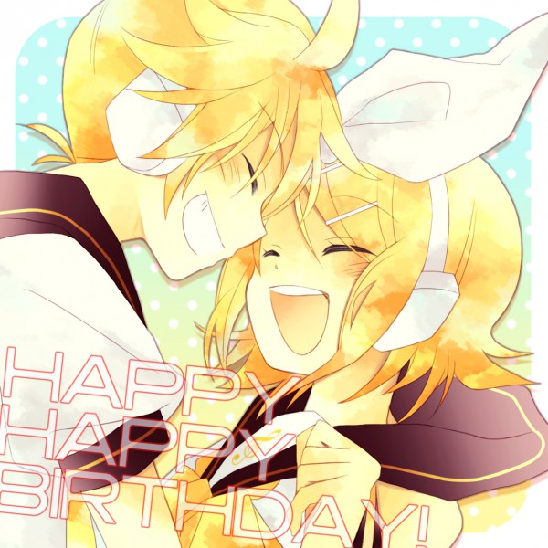 Feliz Cumpleaños! [Kagamine Len] 16-08-10 Birthd11