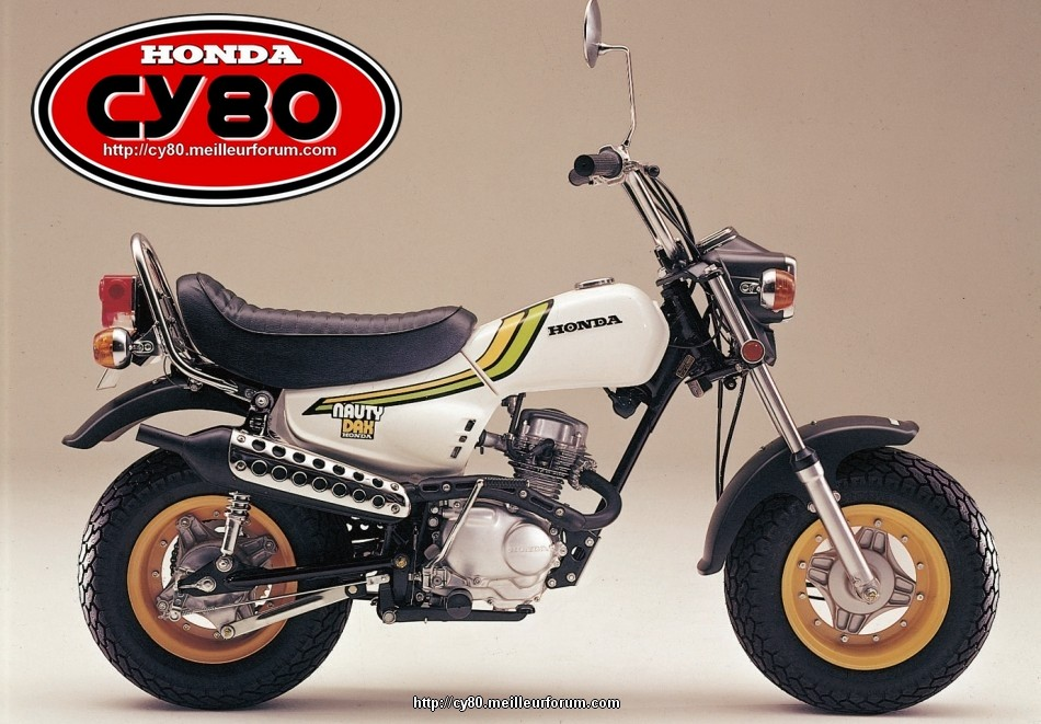 "Le HONDA "" CY50 NAUTY DAX "" de Titi (nouveau projet) Honda-13"