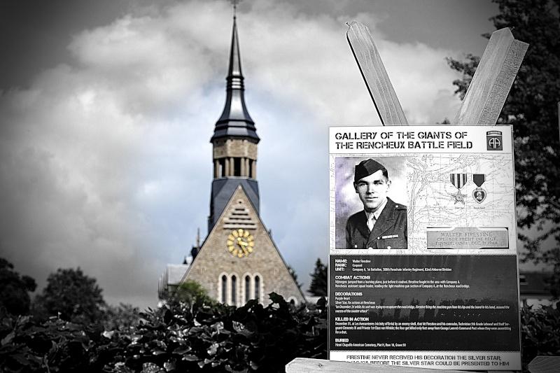 Cérémonie à Rencheux en présence du Vétéran Ernie LAMSON Co A, 508Th PIR - 30 mai 2014 Dsc_0012