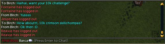 The 10k challenge Birch10