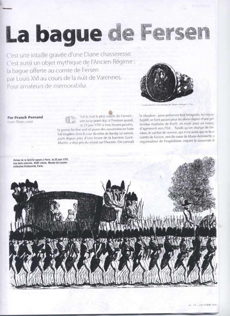 Objets ayant appartenu à Axel de Fersen 0011110
