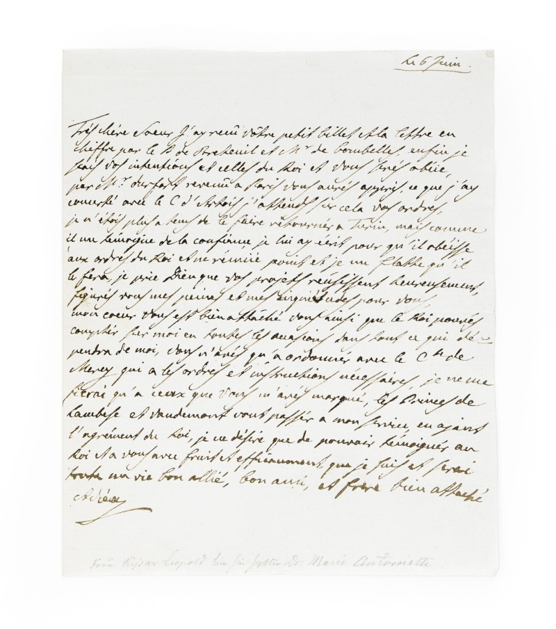 La correspondance de Marie-Antoinette avec son frère Léopold II 639310