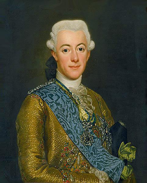 Le roi Gustave III  de Suède Alexan10