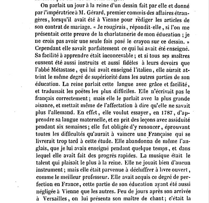 Marie-Antoinette parlait-elle bien le français ? Captu101
