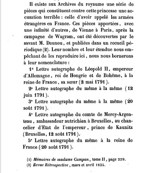 La correspondance de Marie-Antoinette avec son frère Léopold II Captu121