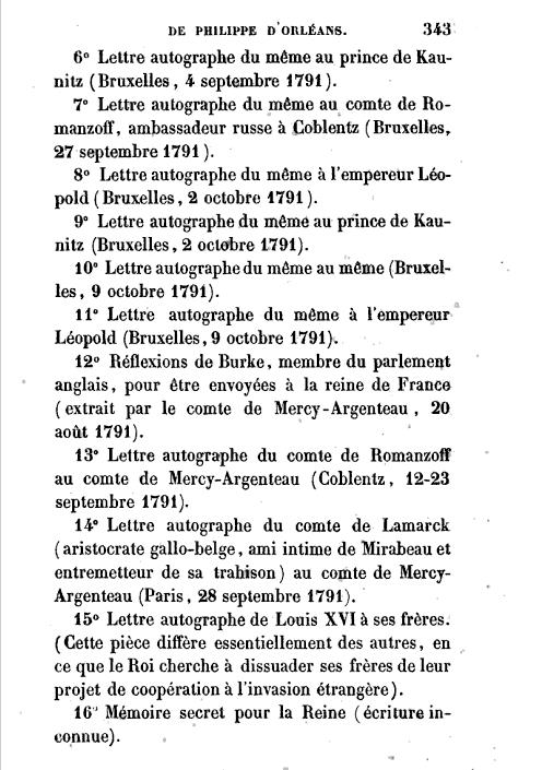 La correspondance de Marie-Antoinette avec son frère Léopold II Captu122