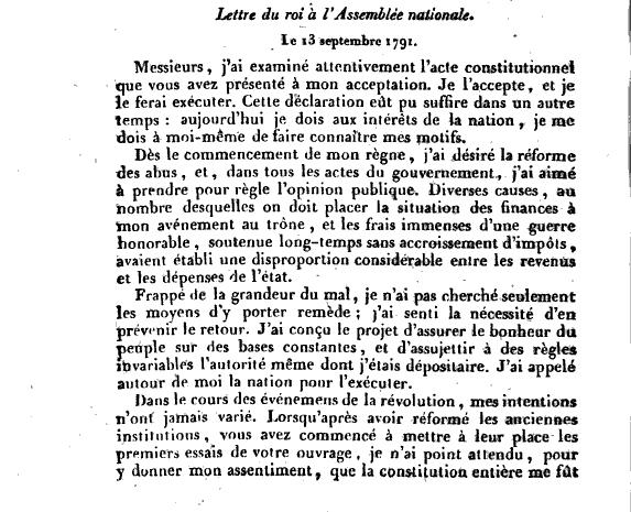 Lettres autographes et écrits de Louis XVI Captu128