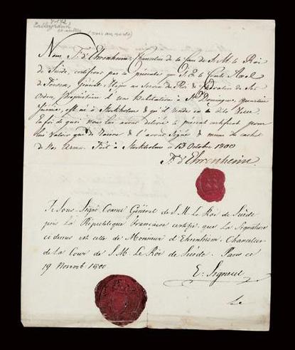Objets ayant appartenu à Axel de Fersen Captu142