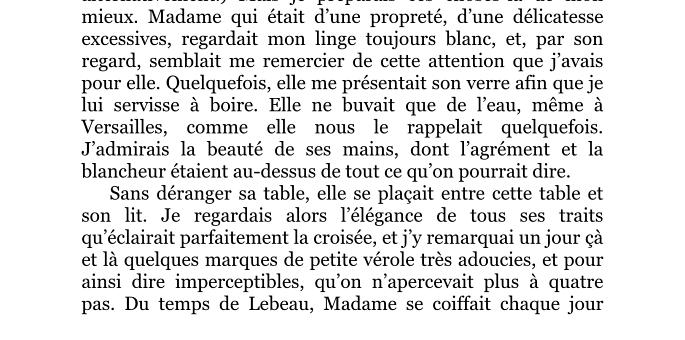 La santé de Marie-Antoinette  Captur91