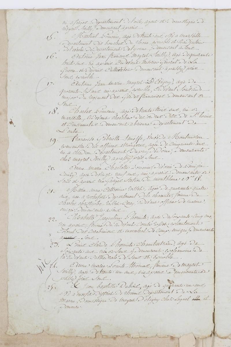 Jugement condamnant Mme Elisabeth Dafan116