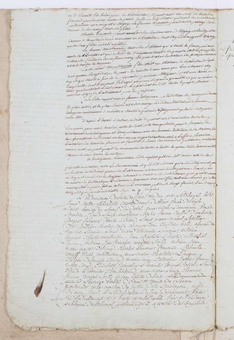 Jugement condamnant Mme Elisabeth Dafan121